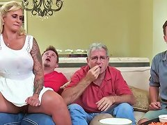 Step Mom Calls In The Step Son For A Few Rounds Of Sex